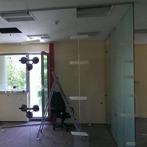 Modificare office sticla securizata