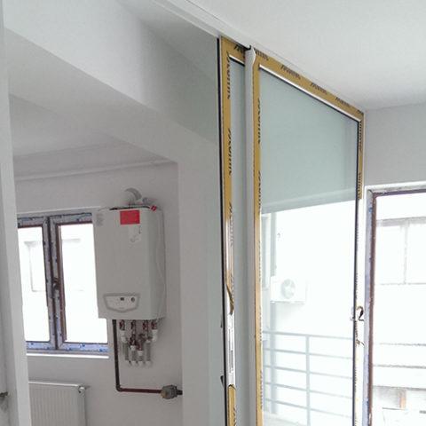 Sistem aluminiu glisant interior